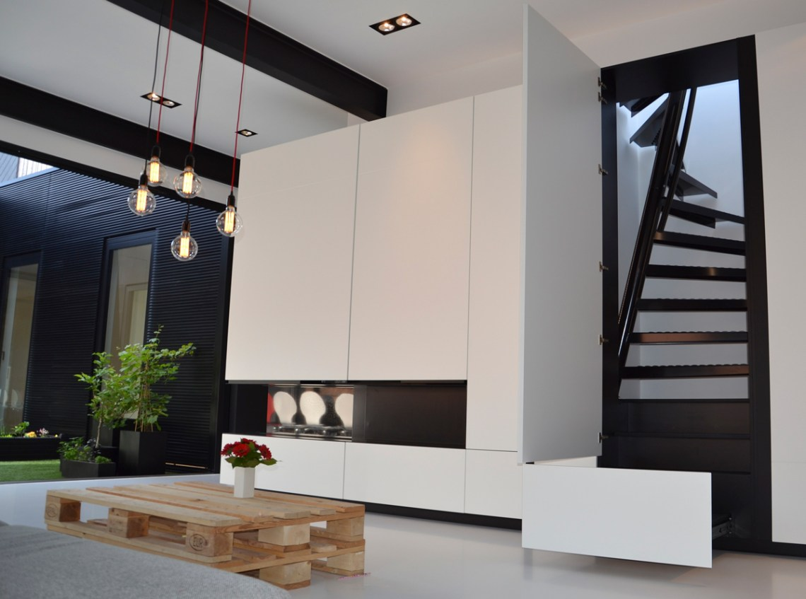 E Stairs A Perfect Solution For Small Space Living: The 1m2 Stairs