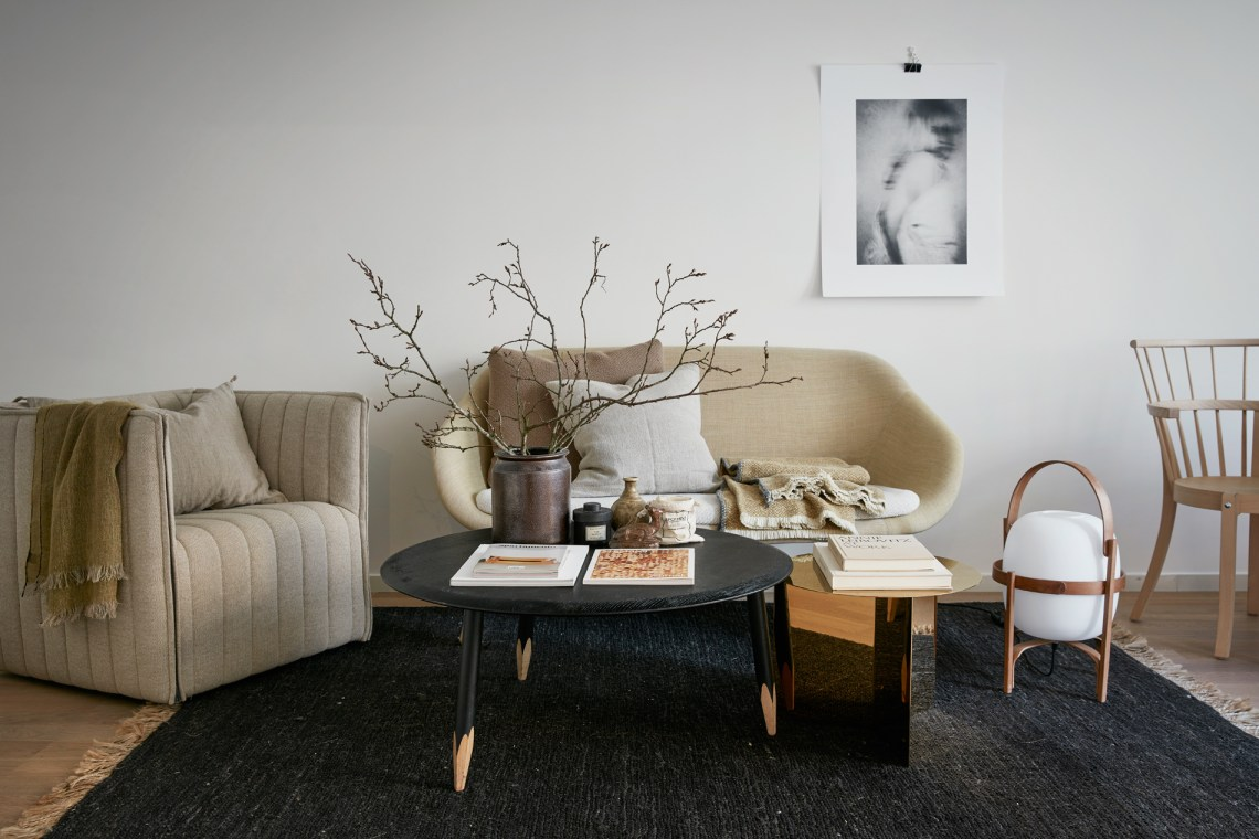 Natural colors and materials - via cocolapinedesign.com