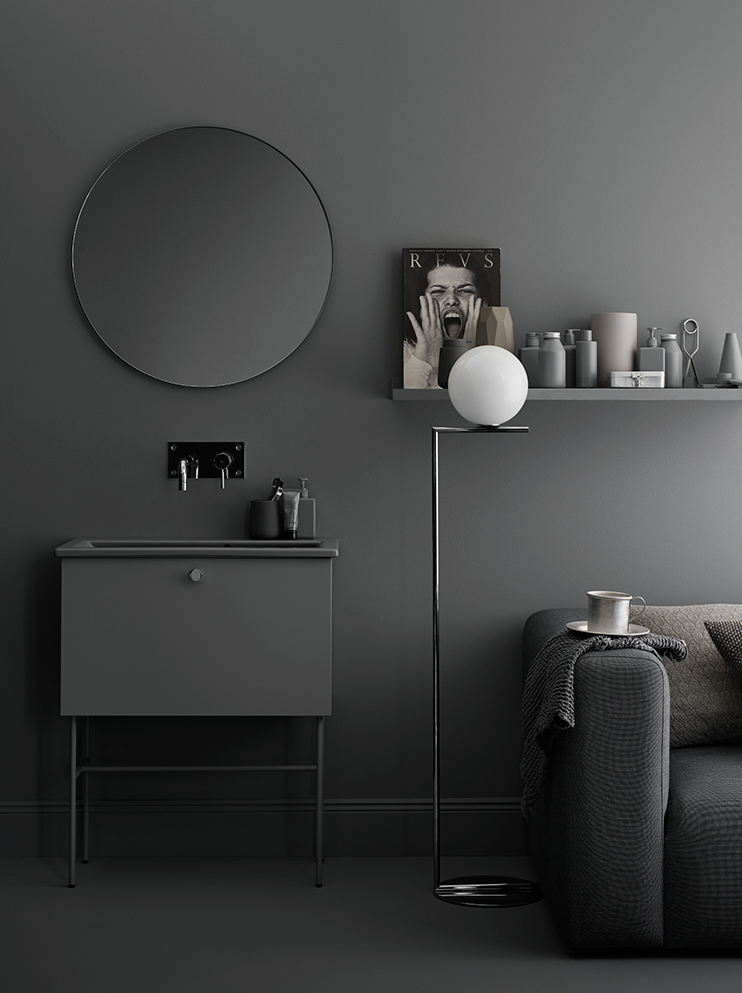 Swoon in grey - via cocolapinedesign.com