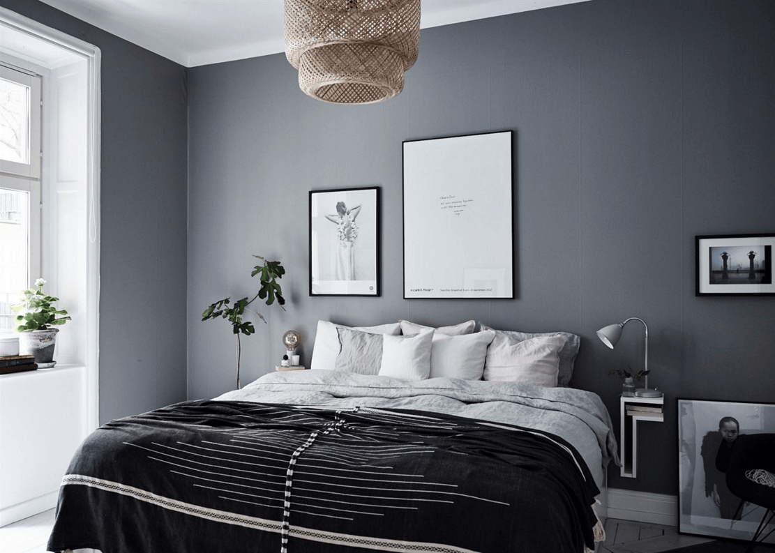 Bedroom Grey Walls 10 Dark Bedroom Walls Coco Lapine Designcoco Lapine Design