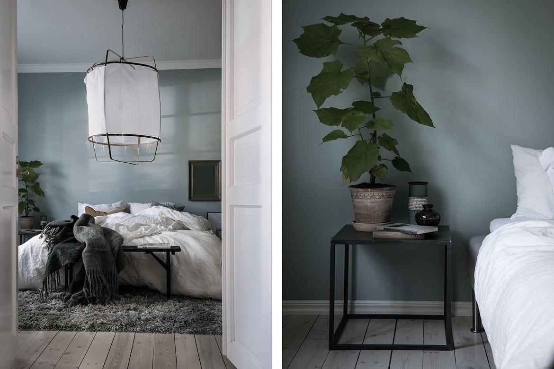 Design Ay Illuminate : Blue grey bedroom coco lapine designcoco lapine design