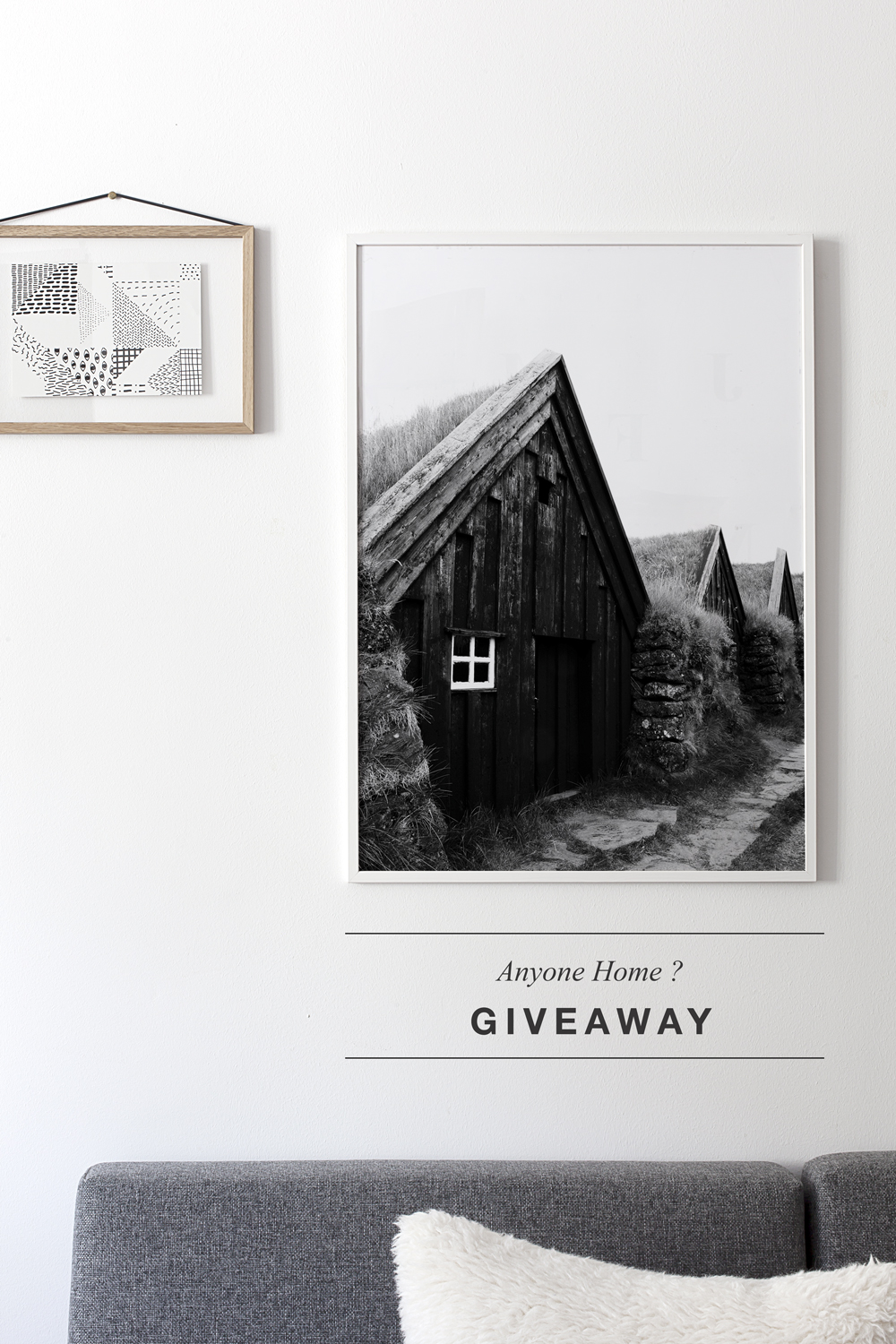 Anyone Home ? giveaway