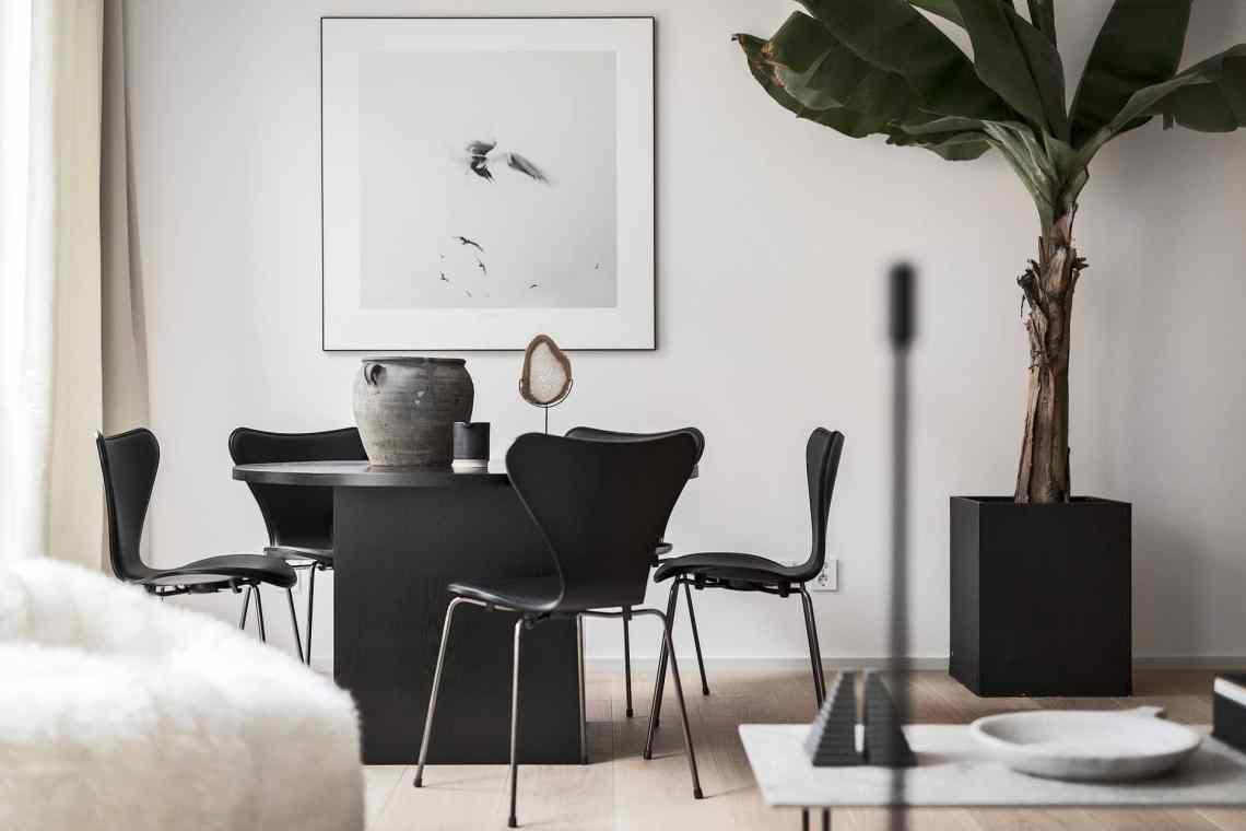 Minimal and chique home - via Coco Lapine Design==