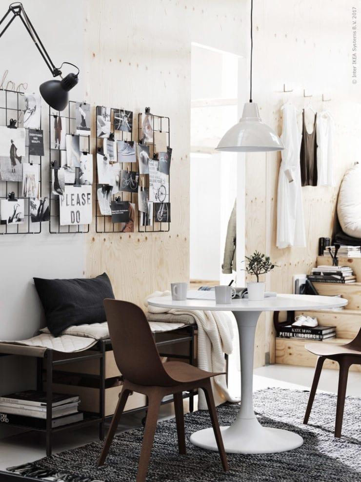 Ikea compact living - via Coco Lapine Design