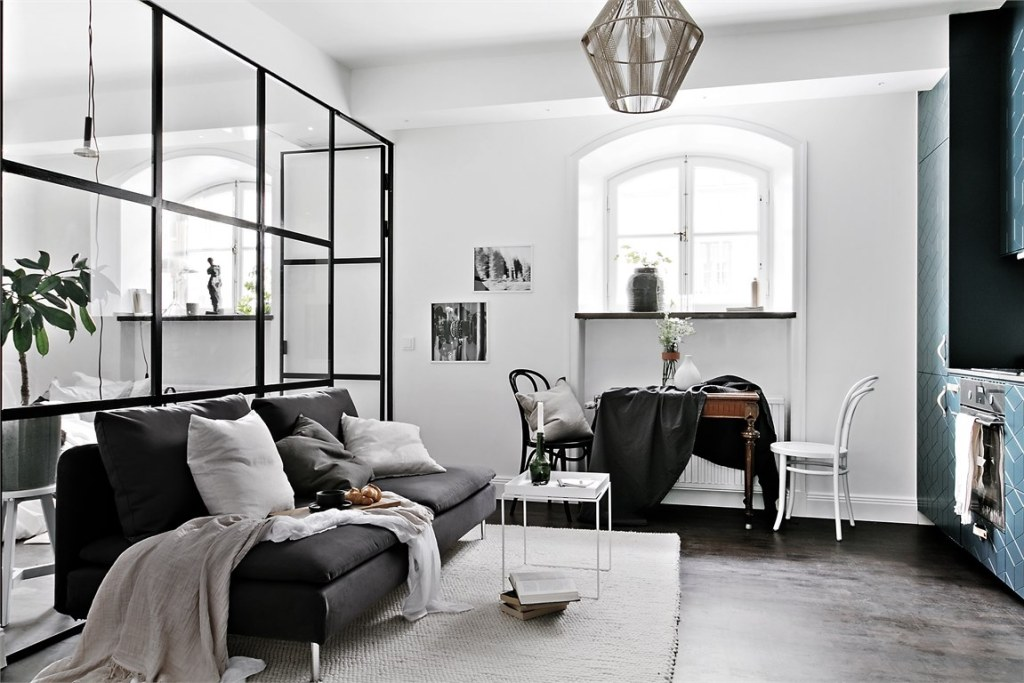 Smart studio living - via Coco Lapine Design blog