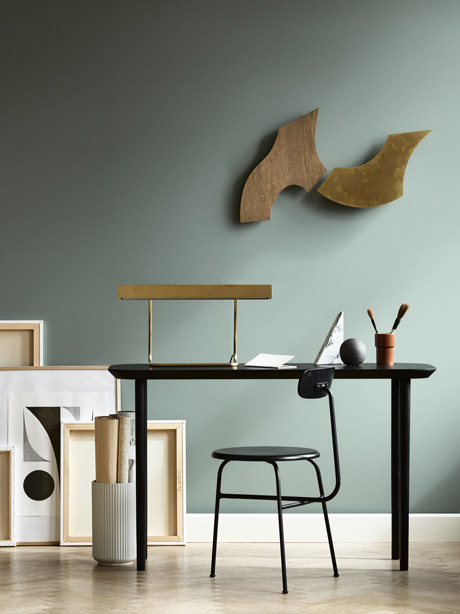 Lindjberg design console table - via Coco Lapine Design blog
