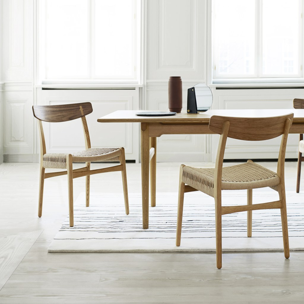 CH23 chair back in production - via Coco Lapine Design blog
