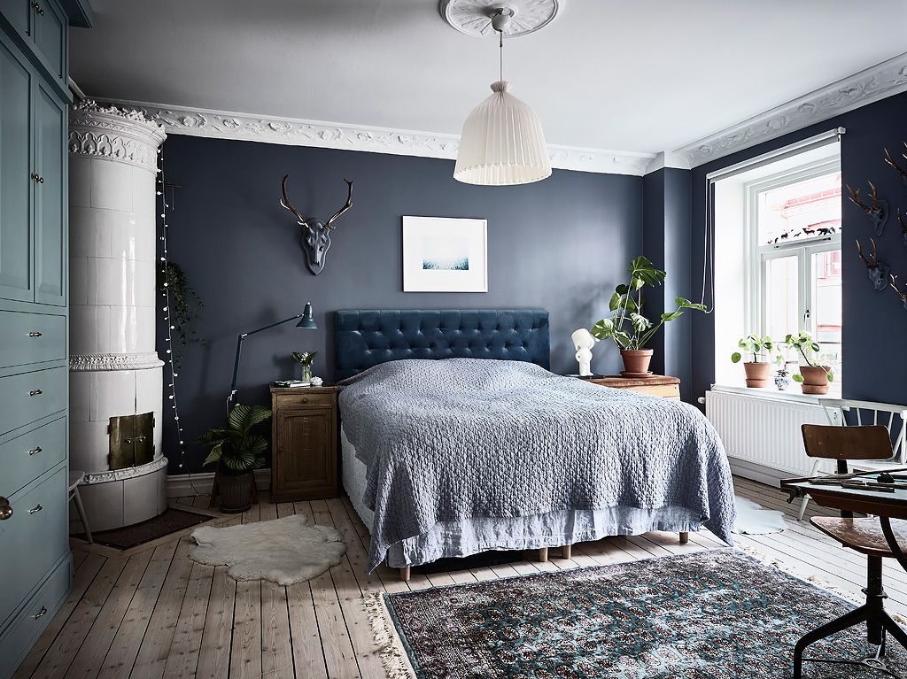 Slaapkamer Ideeen Mint Blue Bedroom And Workspace Combo - Coco Lapine Designcoco