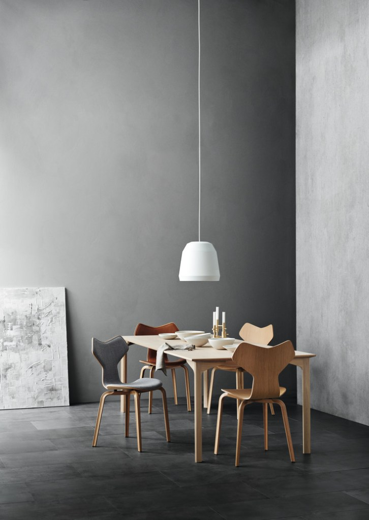 Fritz Hansen Grand Prix table - via Coco Lapine Design blog