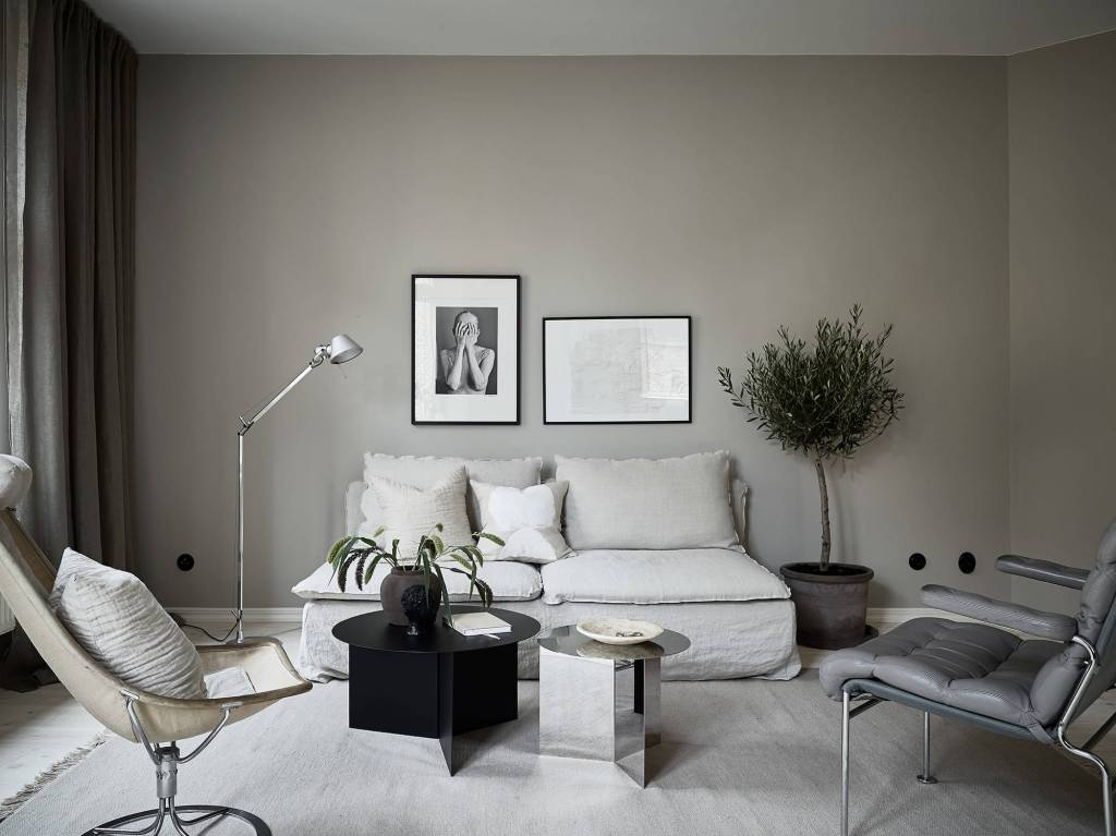 Home Decorated home decorated in warm tints - coco lapine designcoco lapine design