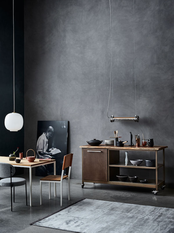Kitchen inspiration in wood and concrete