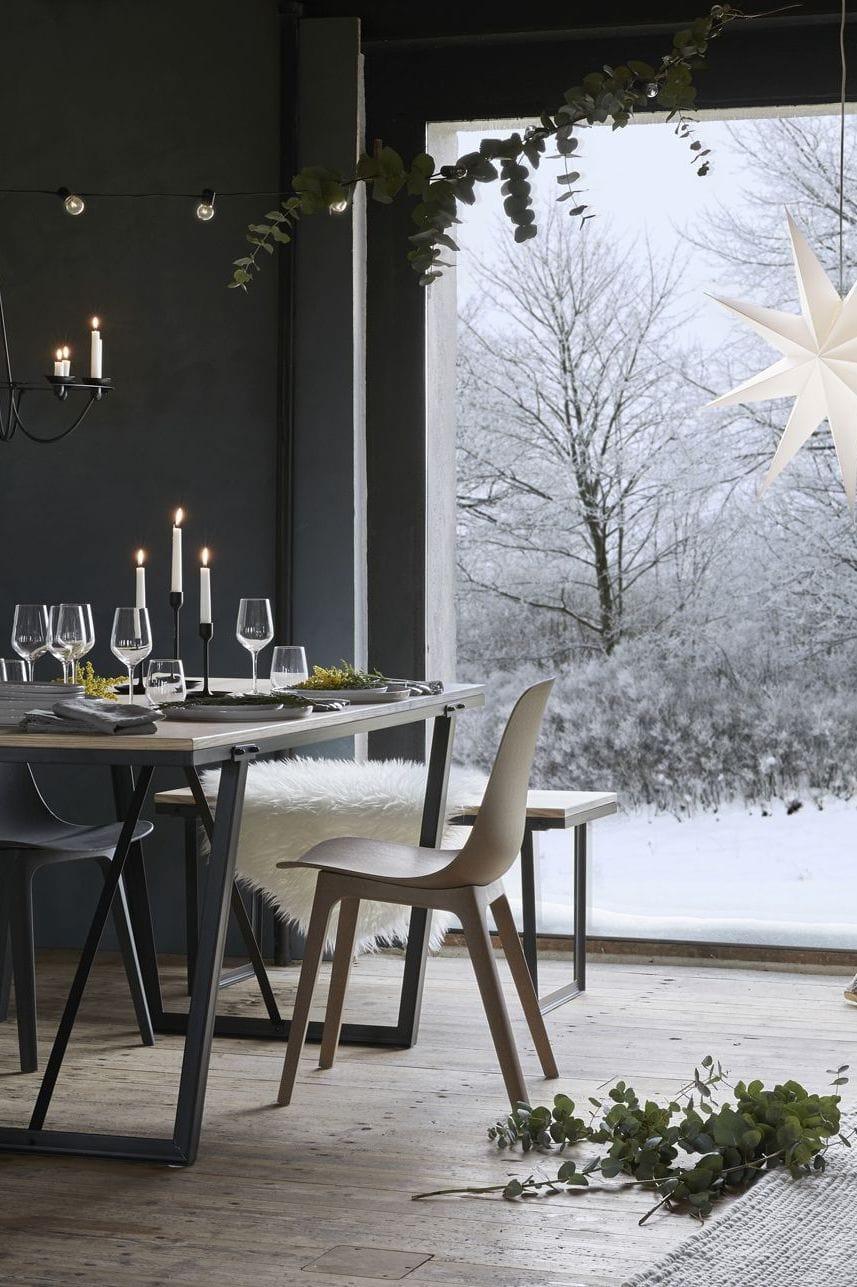 ikea christmas settings via coco lapine design blog