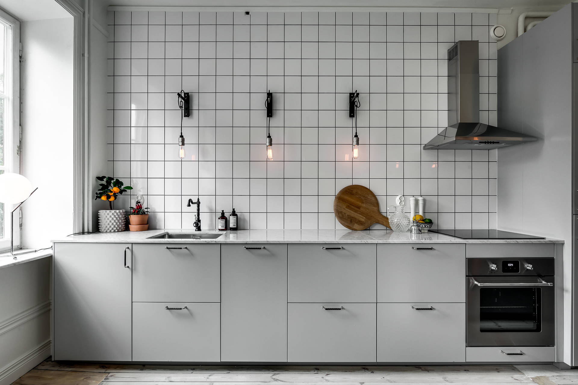 Cuisine Minimaliste Design Minimal Kitchen With An Industrial Touch Coco Lapine
