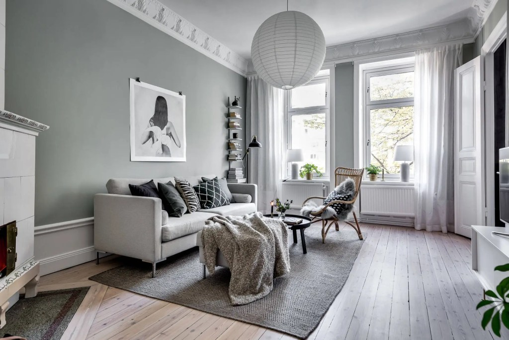 cozy home with soft green walls coco lapine designcoco