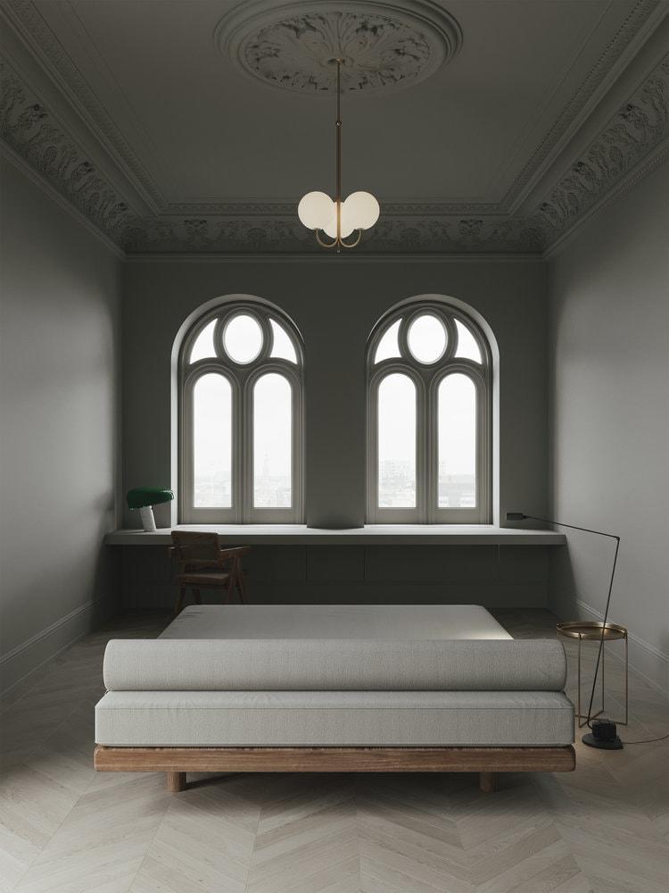 Stylish beige apartment - via Coco Lapine Design blog