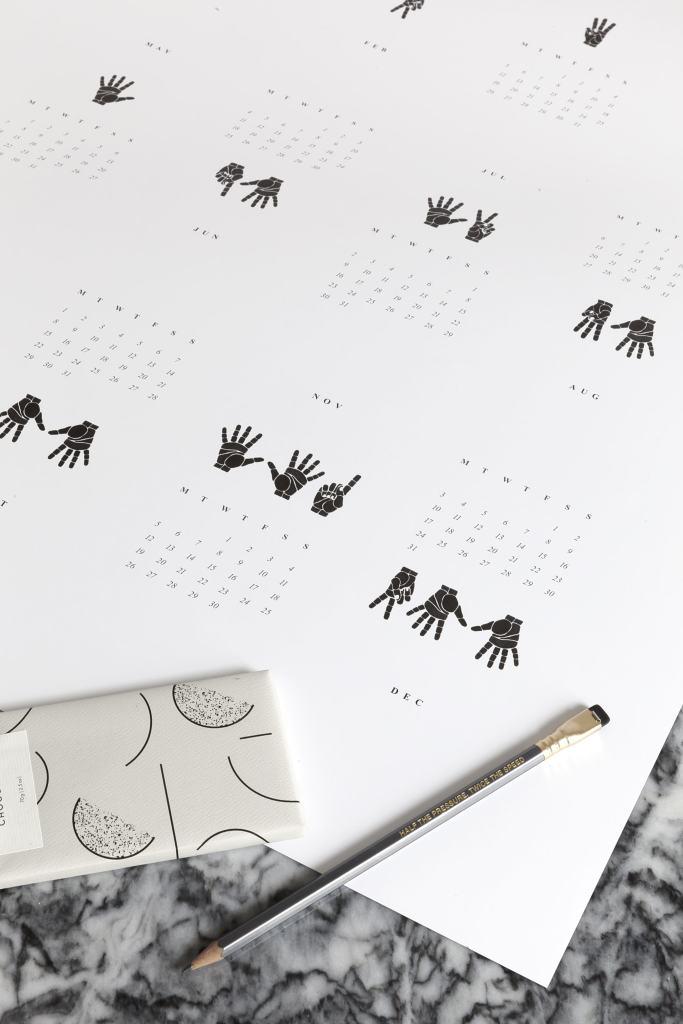 'Make it Count' Calendar 2018 Giveaway - via Coco Lapine Design blog