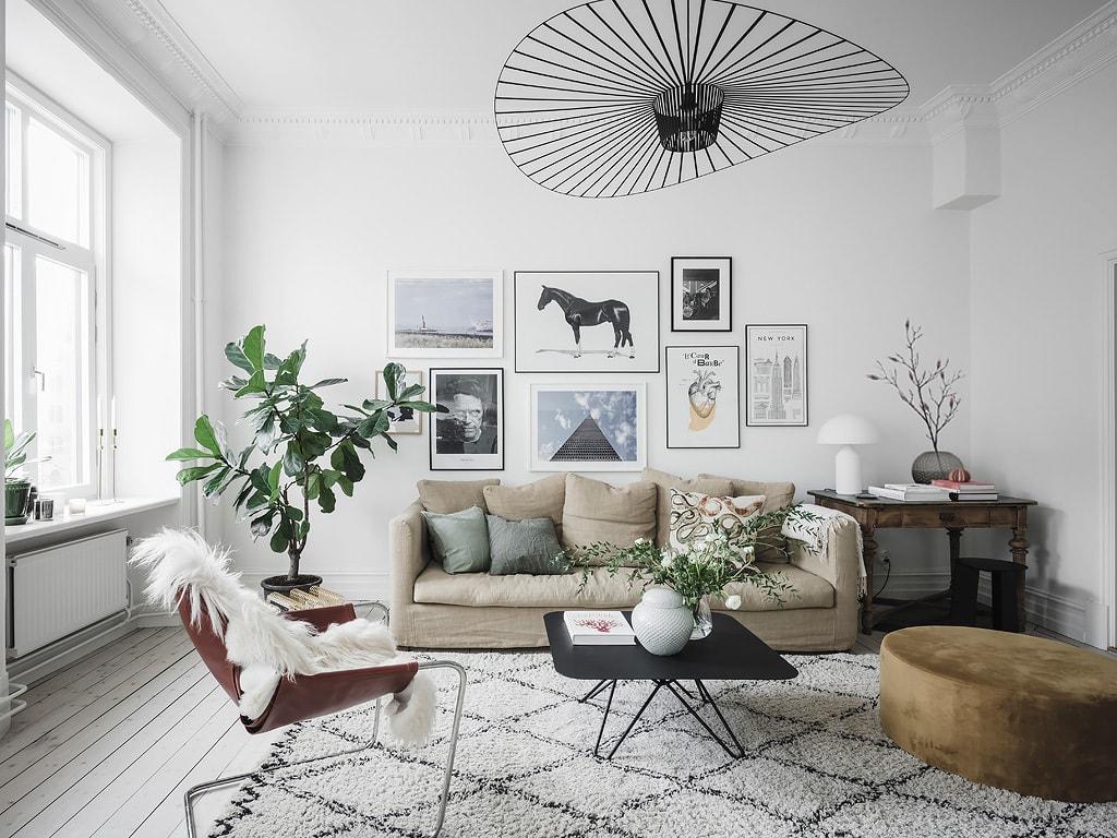 Stylish and spacious living area - COCO LAPINE DESIGNCOCO LAPINE DESIGN
