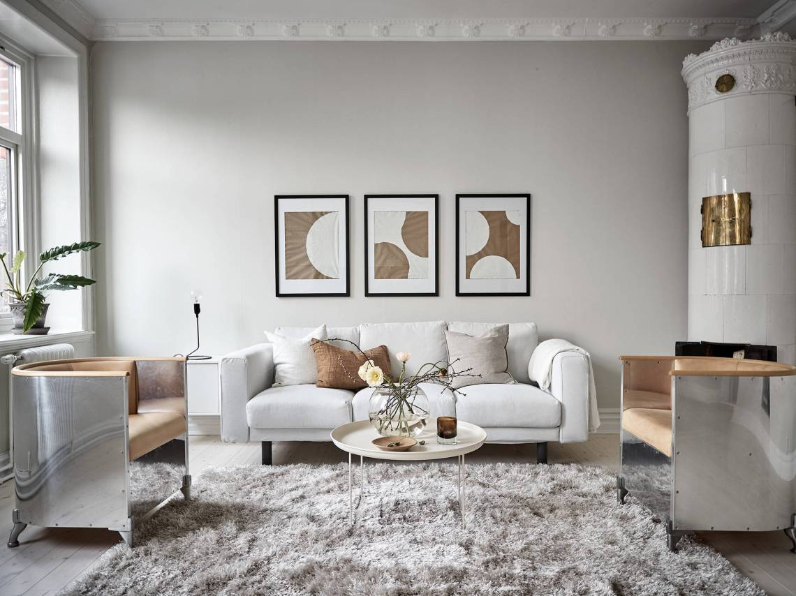 A warm greige home coco lapine designcoco lapine design - Decoradora de interiores ...