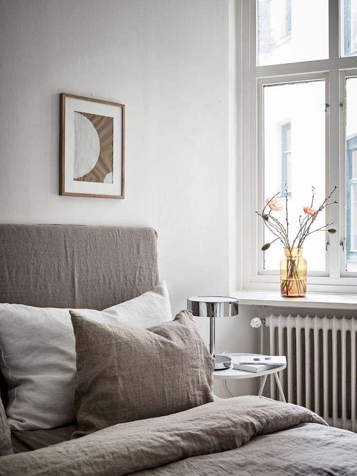 A warm greige home - via Coco Lapine Design blog