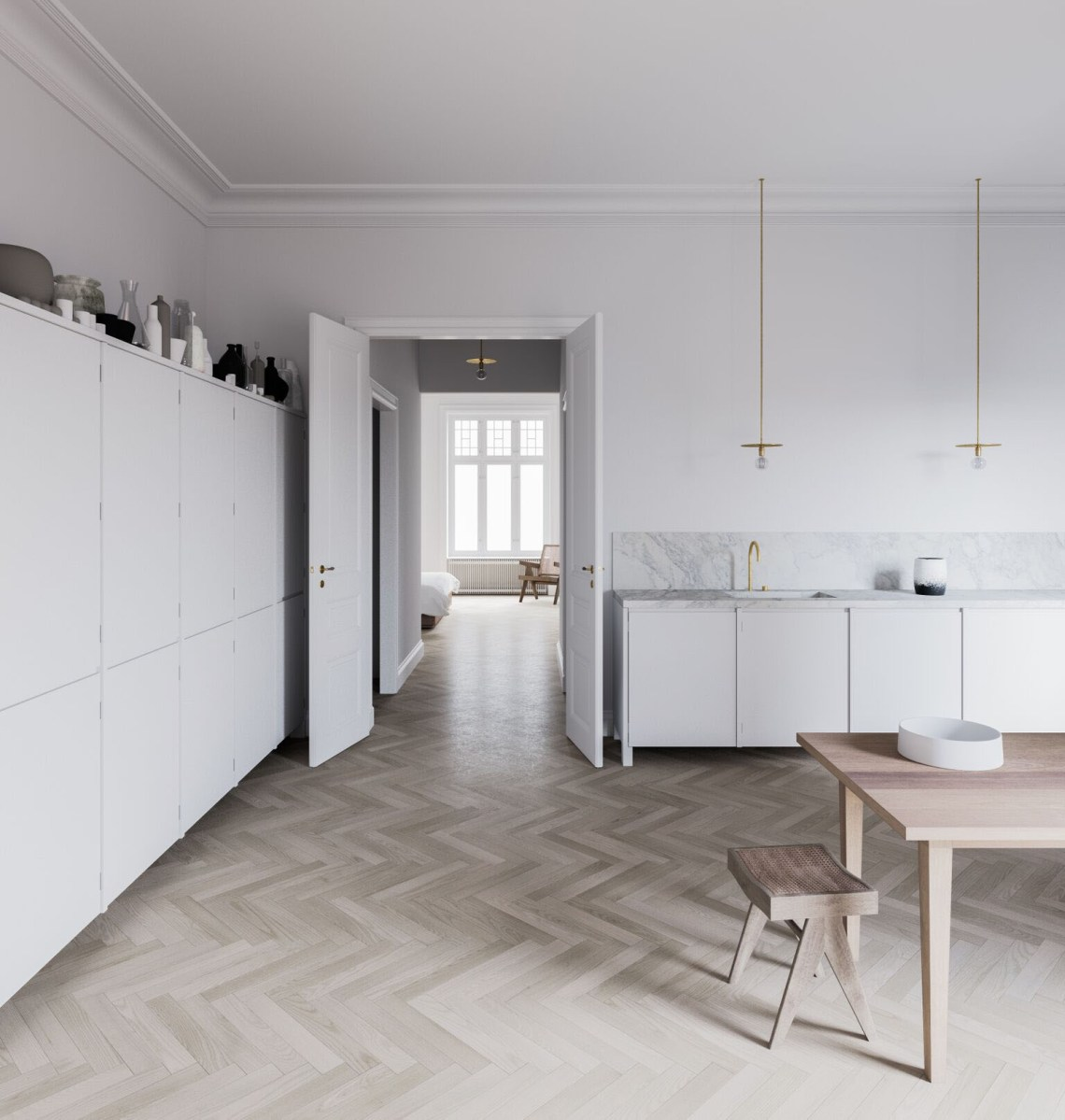 Stockholm apartment visualisation by Andreu Taberner