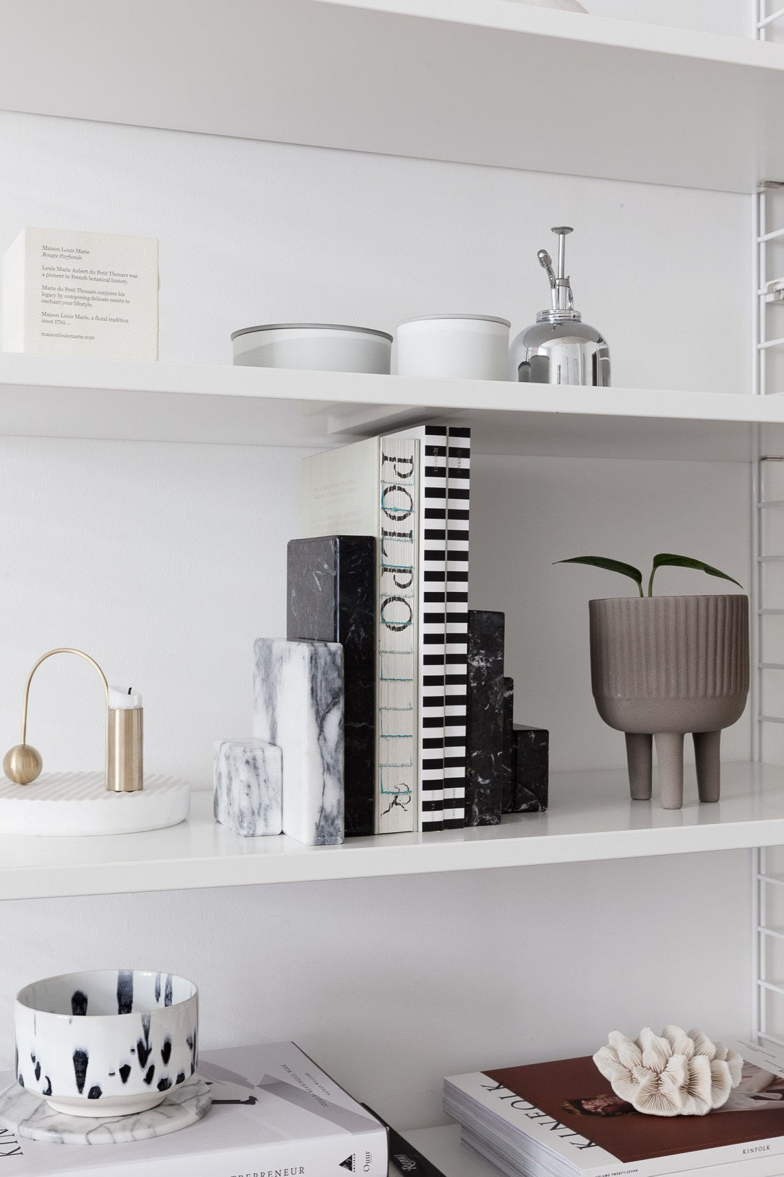 On my shelf - via Coco Lapine Design blog