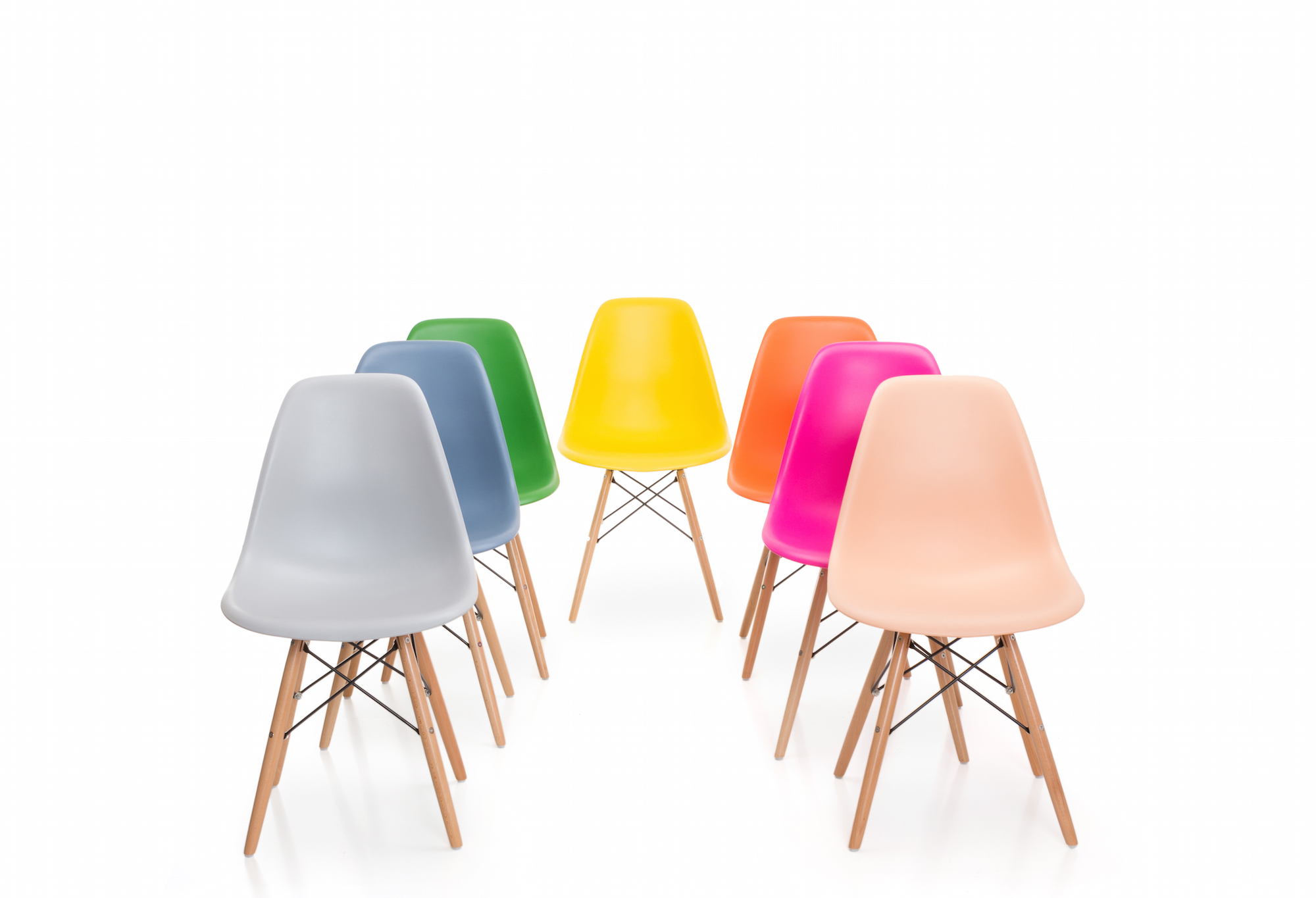 Ikea Chaises Empilables Chaises Colorees