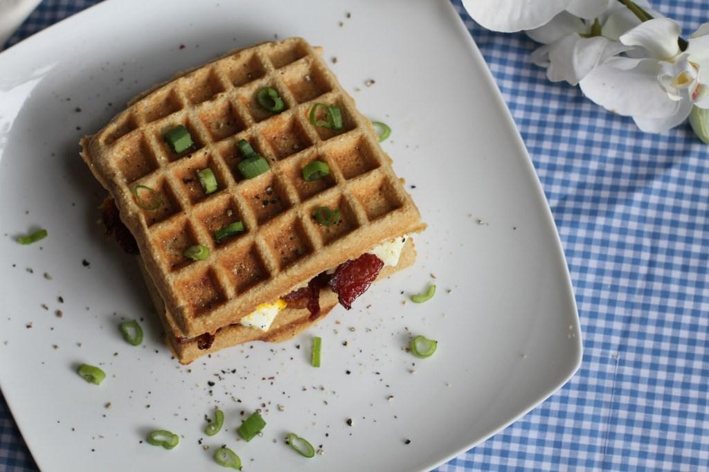 Coconut Contentment Paleo Waffle Sandwich