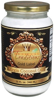 Tropical Traditions Coconut Oil Review - Coconut Contentment