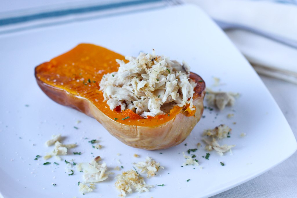 Paleo Stuffed Butternut Squash - Coconut Contentment (1 of 1)