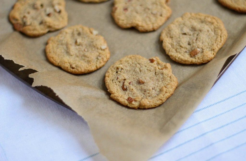 Cinnamon Pecan Cookies, Coconut Contentment (Paleo)