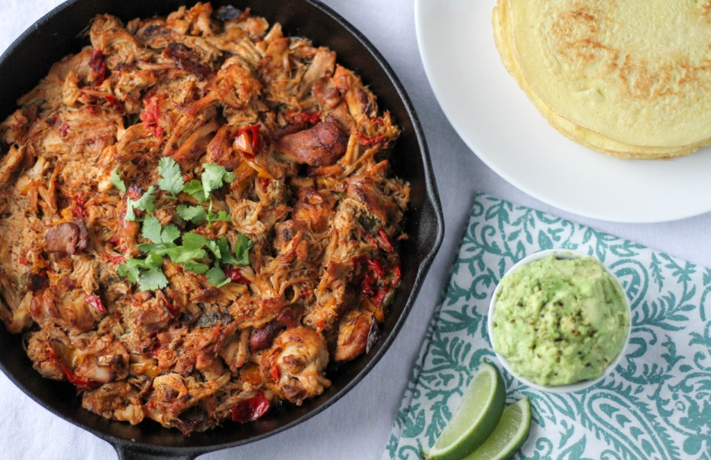 Slow Cooker Chicken Fajitas -- Coconut Contentment
