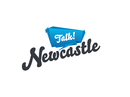 Talk Newcastle Logo Design
