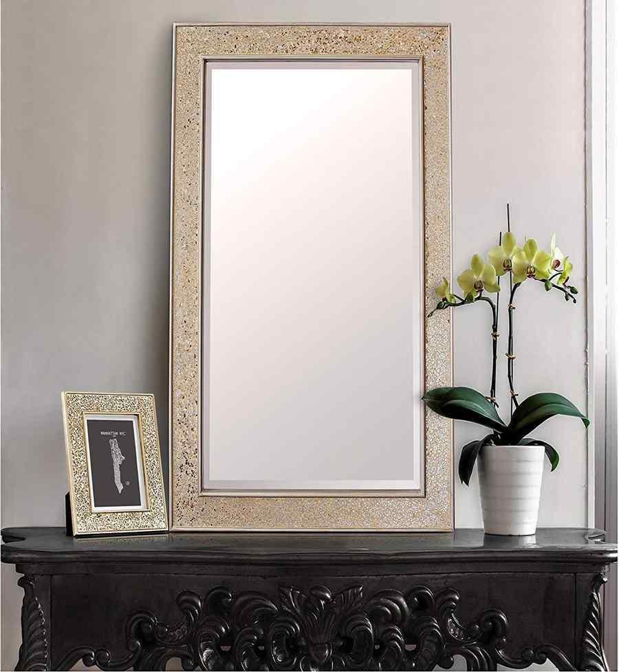 Espejos decorativos para sala espejo decorativo pared for Espejos decorativos amazon