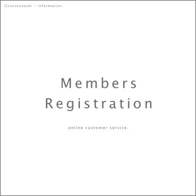 information. | Members Registration.