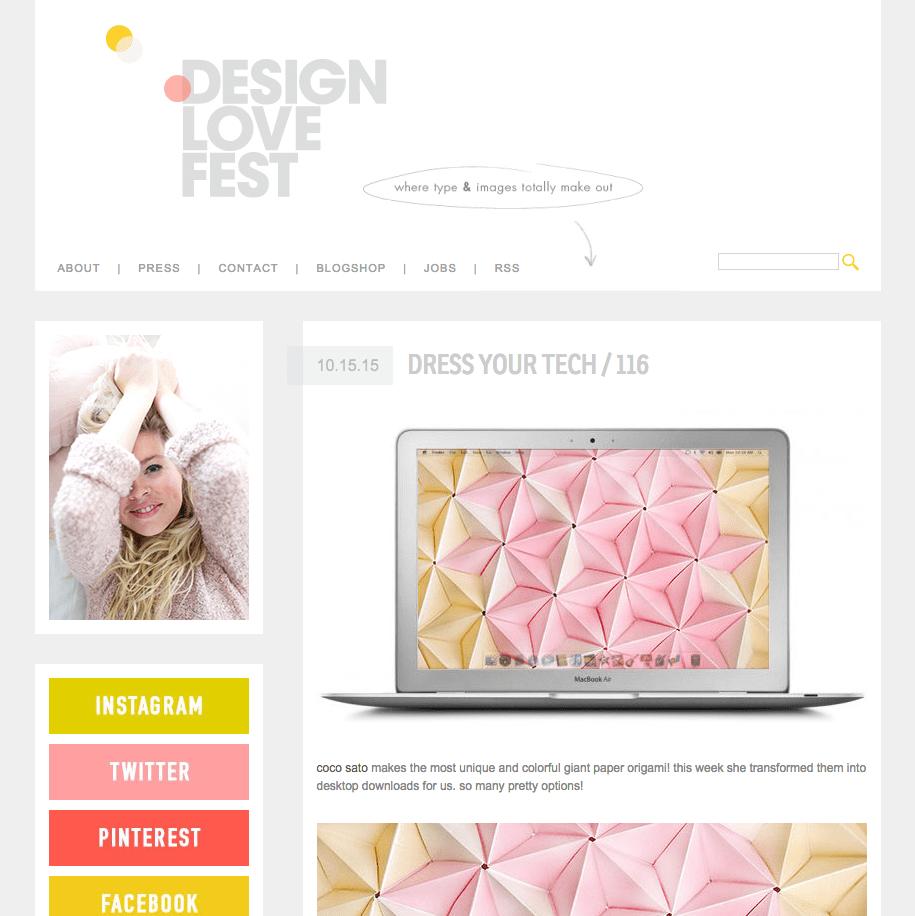 Design Love Fest Coco Sato desktop downloads