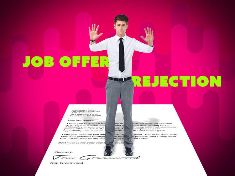 Job Offer Rejection Letter Monster
