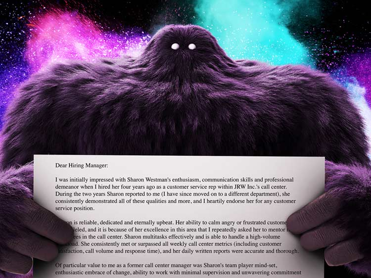 Recommendation Letter Sample Monster - Letters Of Recommendation Samples
