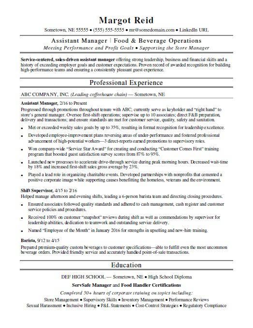 samples of bank branch manager resume on monster