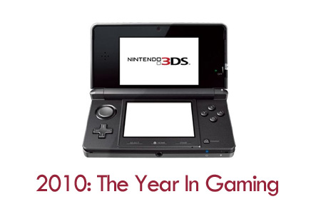 2010 the year in gaming