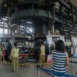 Ngong PIng Cable Car Station in Tung Chung