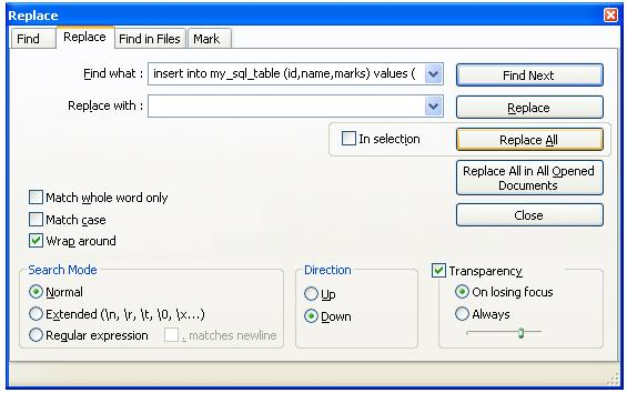 Convert SQL to CSV in Notepad++ - Code2Care - sql convert