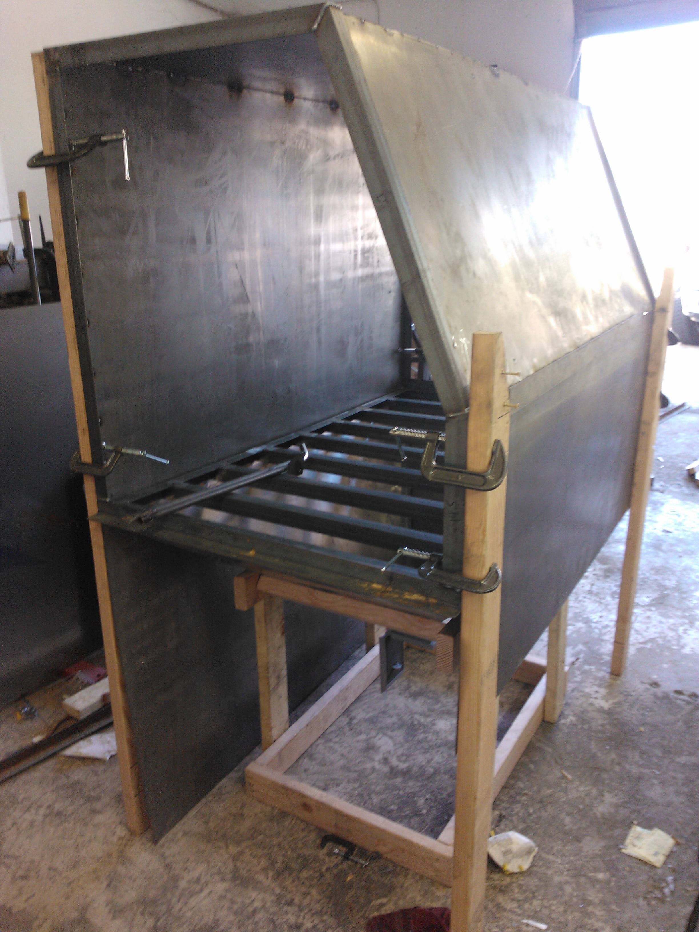Building The Sand Blast Cabinet Codeblooded