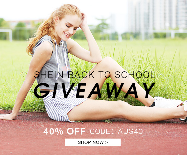 SheIn 'Back to School' Giveaway