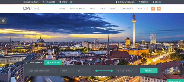 Best WordPress Travel Themes for 2017 Code Geekz