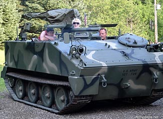 Fun for all the family with your own M/T-114 armored personnel carrier - this one costs $74,000.
