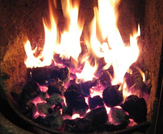 We love coal fires and their distinctive appearance and smell.  The fact they are a very efficient and low cost way of heating is a further reason to consider coal as a fuel source.