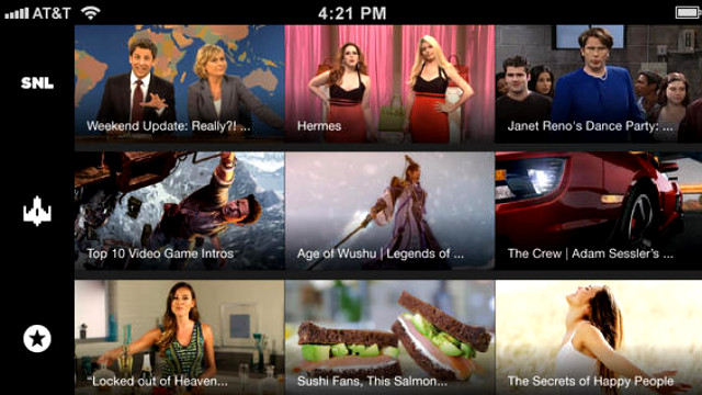 Yahoo Screen app 2