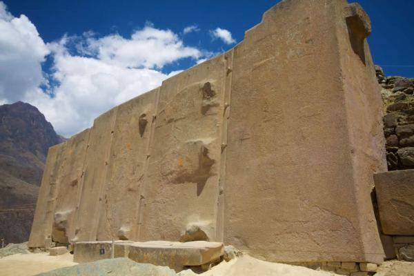 Ollantaytambo: El templo del sol.