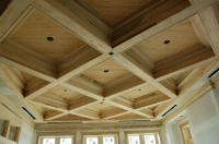 Toronto patterned coffered ceiling installation