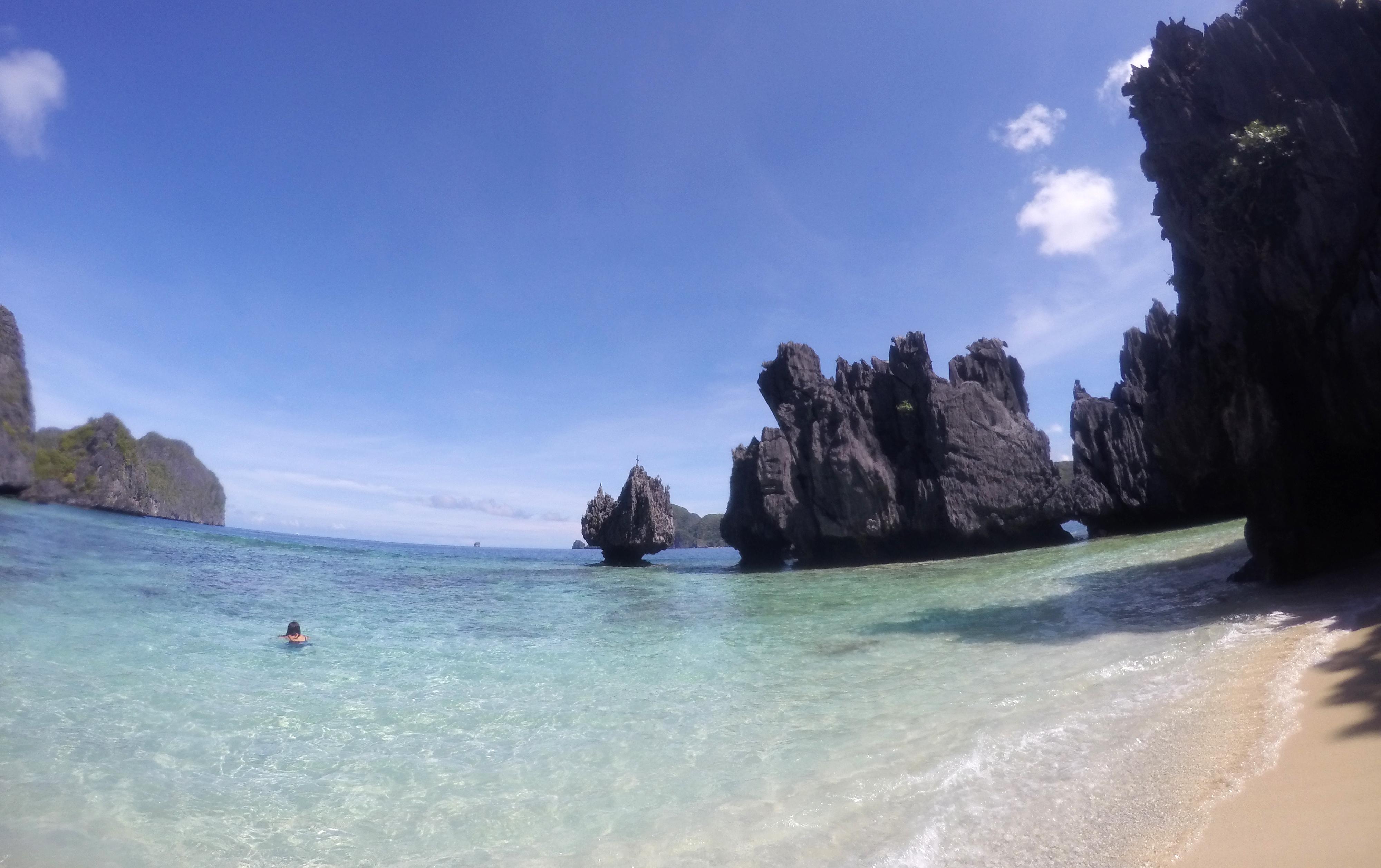Hidden Beach, El Nido, Palawan, Philippines. Nov 2016
